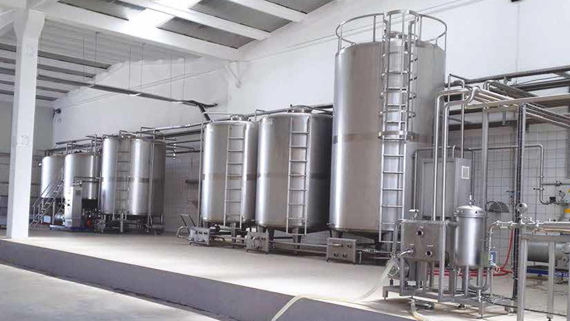 Milk Processing Production Line