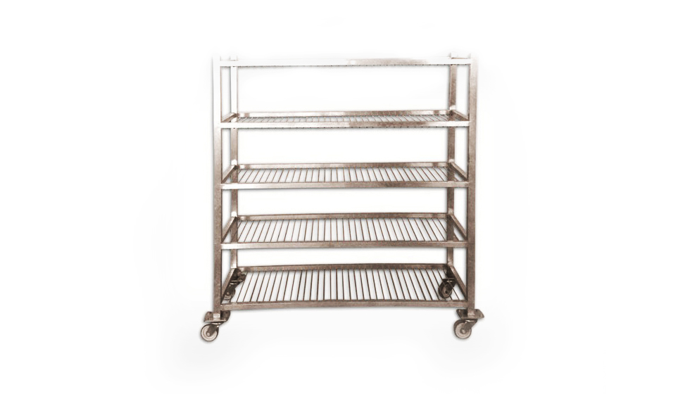 Yogurt Carrying Trolley